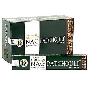 Golden Nag - Patchouli 15g Pack