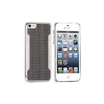 Black Plastic Shell Silver Contour For IPhone 5