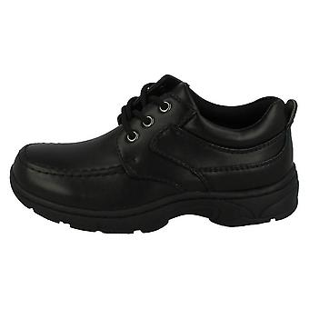 Cool For School Boys  Lace Up School Shoes