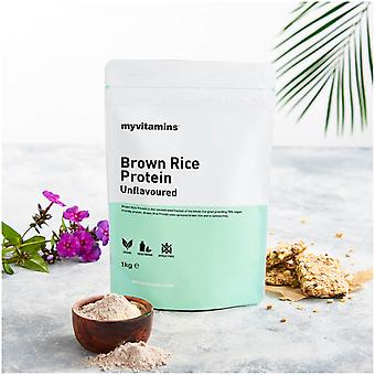 Ruskea riisi proteiini-maustettu (1000 grammaa)-Myvitamiinit