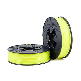 PLA 1,75mm fluor amarillo 0,75kg - 3D Filament Supplies