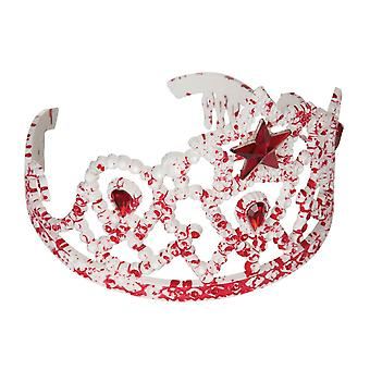 Bnov Bloody Tiara With Star Drop Gems