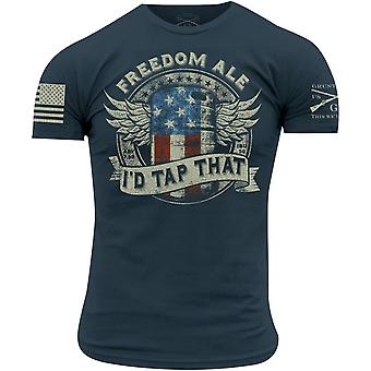 Grunt Style Freedom Ale T-Shirt - Blue