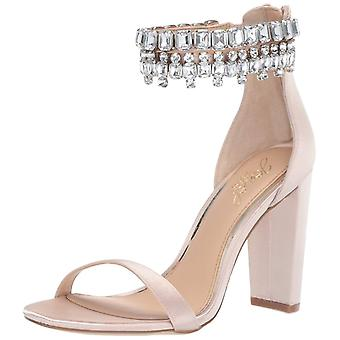 BADGLEY MISCHKA Womens Dancer Open Toe Special Occasion Ankle Strap Sandals