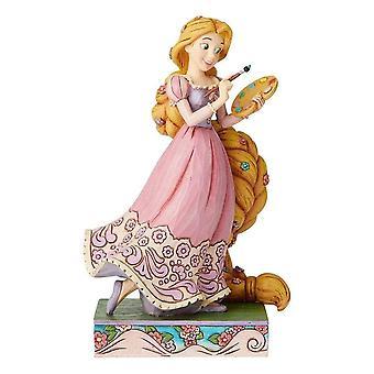 Disney Traditions Adventurous Artist Rapunzel Figurine