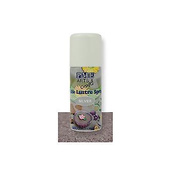 PME Edible Lustre Spray 100ml - Silver