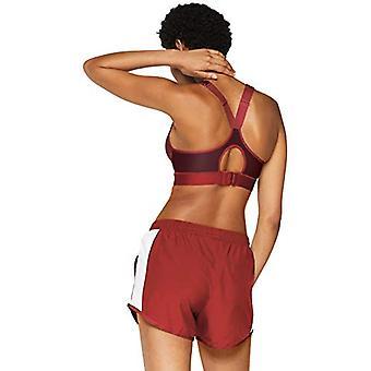 Under Armour Frauen's Warp stricken High Impact Sport BH, Ziegel rot, rot, Größe 38C