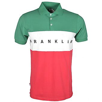Franklin & Marshall Mf150 Flag Pique Bright Green Polo