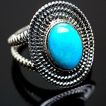 Large Kyanite, Aquamarine, Tanzanite Ring Size 8.25 (925 Sterling Silver)  - Handmade Boho Vintage Jewelry RING990664