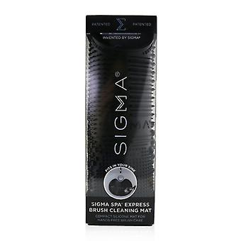 Sigma Beauty Spa Express Brush Cleaning Mat - Black - -