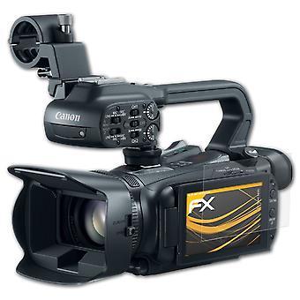 atFoliX 3x προστάτης οθόνης συμβατός με την ταινία προστασίας οθόνης της Canon XA20 σαφής