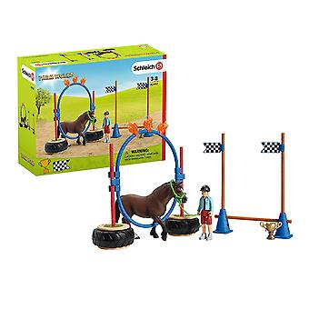 Schleich Farm World Pony Agility Race Playset