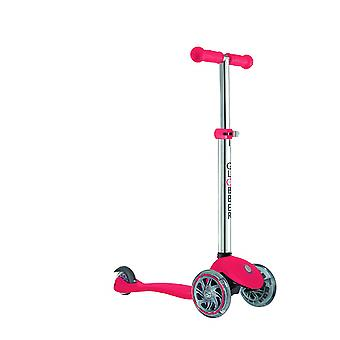 Globber 4 in 1 Lights Ride On Scooter Red