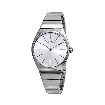 Calvin klein women's watch grey k6c2x1