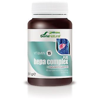 Soria Natural Complexo Hepa Mgdose 60 comprimidos