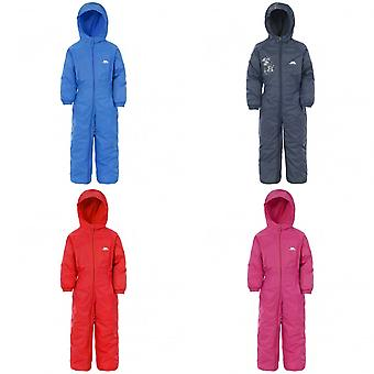 Trespass Kids Unisex Dripdrop Padded Waterproof Rain Suit