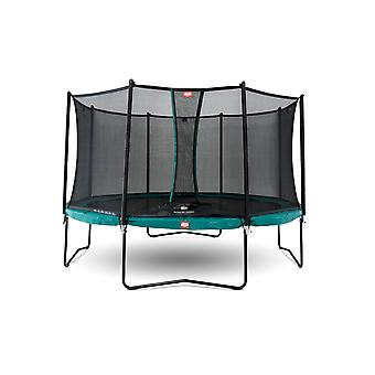 BERG Champion Regular 270 9ft Trampoline Green With Safety Net Comfort