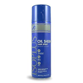 Isoplus oil sheen hair spray, 11 oz