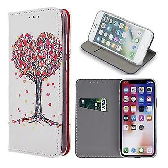 Samsung Galaxy J6 Plus - Kotelo mobiililompakko - Tree of Love