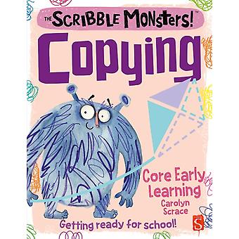 The Scribble Monsters Copying by Scrace & Carolyn