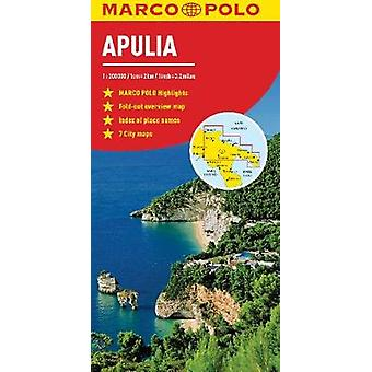 Apulia Italy Marco Polo Map by Marco Polo - 9783829755771 Book