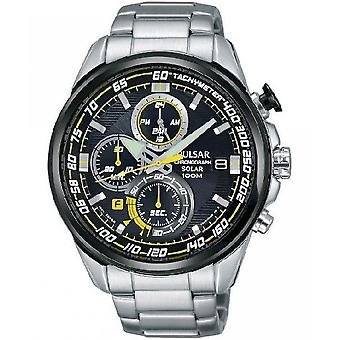 Pulsar watches mens watch solar chronograph PZ6003X1