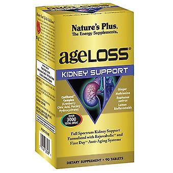 Nature's Plus Ageloss Kidney Support Tabs 90 (8008)