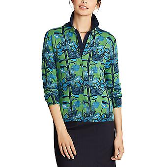 Brooks Brothers Women's Floral Print Supima Cardigan