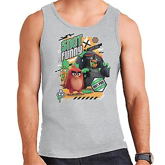 Angry Birds Snot Funny Men's Vest