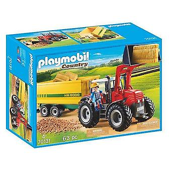 Playset Country Tractor met trailer Playmobil 70131 (63 pc's)