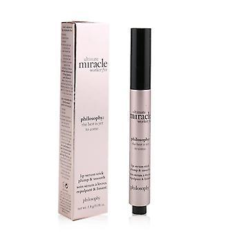 Ultimate Miracle Worker Fix Lip Serum Stick - Plump & amp; Glat - 1,8 g