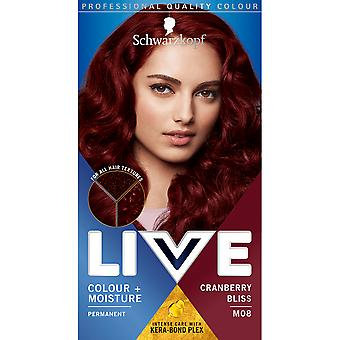 Schwarzkopf Live Intense Colour + Moisture - Cranberry Bliss M08