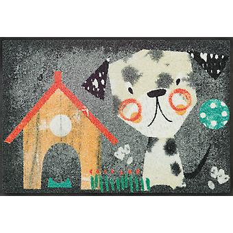 wash + dry mat 50 x 75 cm Benno washable dirt mat dog welcome