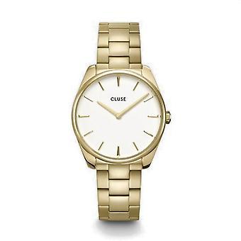 Cluse CW0101212005 La Féroce Gold Tone Wristwatch