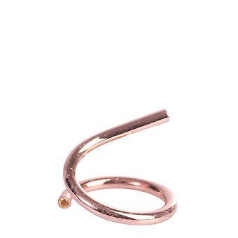 Maison Margiela S51uq0046s12632186 Women's Pink Brass Ring