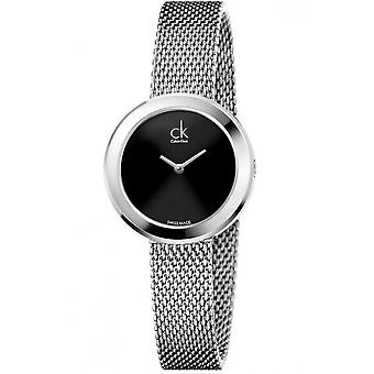 Calvin Klein K3N23121 Quartz Black Dial Ladies Watch