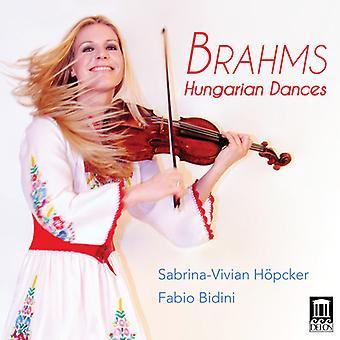 Brahms / Hoepcker / Bidini - 21 Hungarian Dances for Violin & Piano [CD] USA import