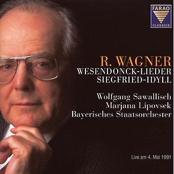 Wagner / Lipovsek / Sawallisch - Wesendonck-Lieder [CD] USA import