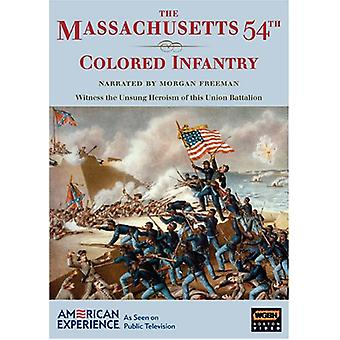 Massachusetts 54th Colored Infantry [DVD] USA import