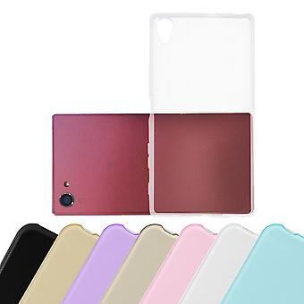 Cadorabo Case voor Sony Xperia Z5 compact gevaldekking-flexibele TPU siliconen case geval ultra slanke zachte terug Cover Case bumper
