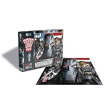 2000ad - abc warriors - 500 piece puzzle