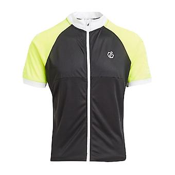 Dare 2B Men's Accurate II Full Zip Cycling Jersey Black