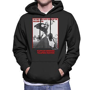 Hammer Horror Films Captain Kronos Only Man Alive Men-apos;s Sweatshirt à capuchon
