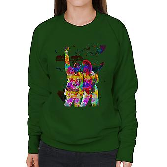 Brian May And Freddie Mercury 1989 Women's Sweatshirt