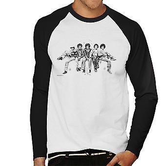Jackson 5 op Hyde Park Corner 1977 mannen honkbal lange mouwen T-Shirt