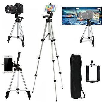 Universal Telescopic Camera Tripod Mount Holder for iPhone Samsung + Bag