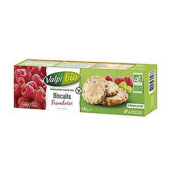 Biologische Raspberry Cookies 4 eenheden