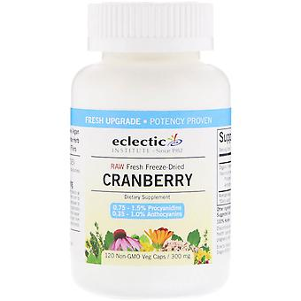 Eclectic Institute, Cranberry, 300 mg, 120 Veg Caps
