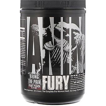 Universal Nutrition, Animal Fury, Fruit Punch, 491,4 g