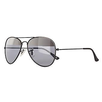 النظارات الشمسية Unisex Cat.3 مات الأسود / الرمادي (& quot;amu19209i & quot;)